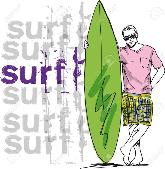 illustration surf - Pesquisa Google