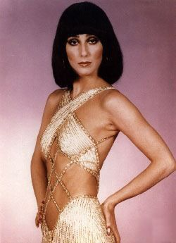 Cher in Gold by Bob Mackie