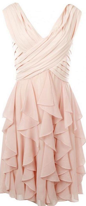 Blush Pink Homecoming Dress,Homeco