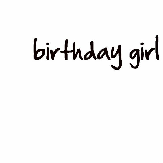 #birthdaygirl It's my birthday! :)