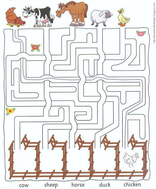 farm animal worksheets for kids      Crafts and Worksheets for Preschool,Toddler and Kindergarten