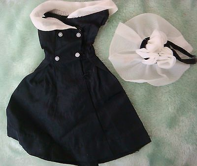 """Vintage Barbie 1962-64 TAGGED """"After Five"""" #934 w/ Dress and Hat"""