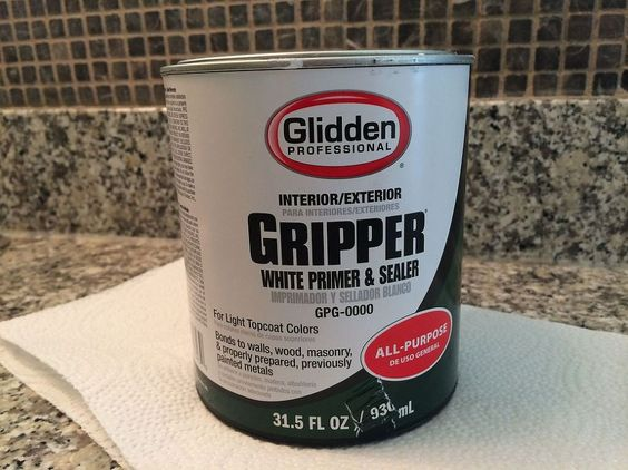 gripper primer kitchen cabinets coats home and painting bathroom cabinets on 4101