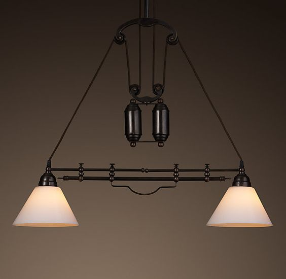 POSSIBLY OVER KITCHEN COUNTER: Restoration Hardware