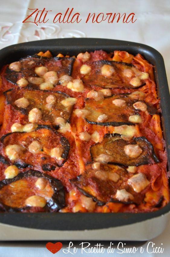 Ziti alla norma al forno - Le Ricette di Simo e Cicci!