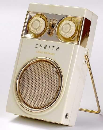 Zenith transistor radio