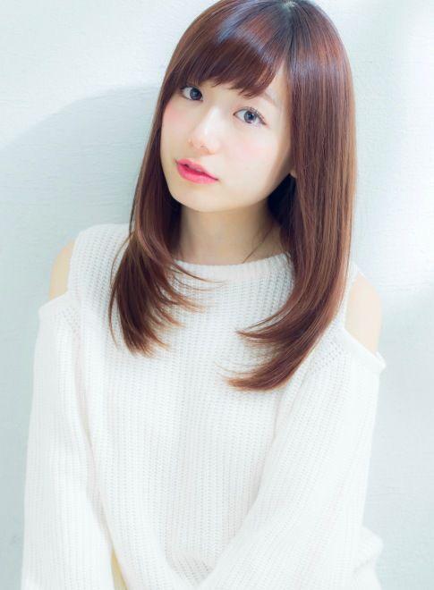 谷賢二 大人女子の艶髪ロングレイヤー 髪型ロング Long Hair Girl