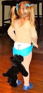 Coppertone Girl Halloween Costume