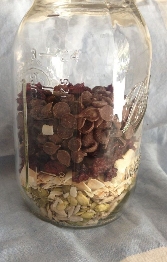 Zero waste trail mix is so easy! Take a trip to the bulk bins to create custom, healthy, nut-free, waste-free trail mix full of magnesium, protein, and ...