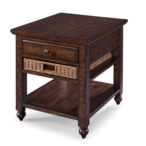 Magnussen Home Cottage Lane Rectangular End Table End Tables Furniture Mall Of Kansas End Tables With Storage
