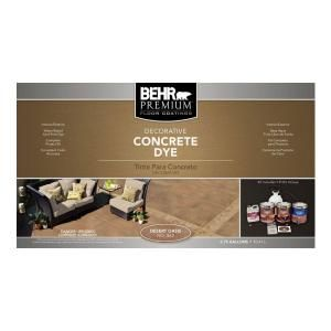 Behr Premium Desert Oasis Concrete Dye Kit 86236 At The