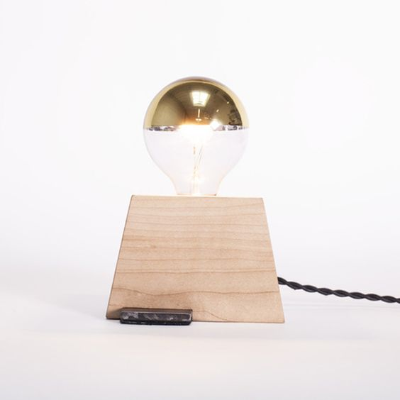 Plank Table Lamp by Tightrope | L2201-B