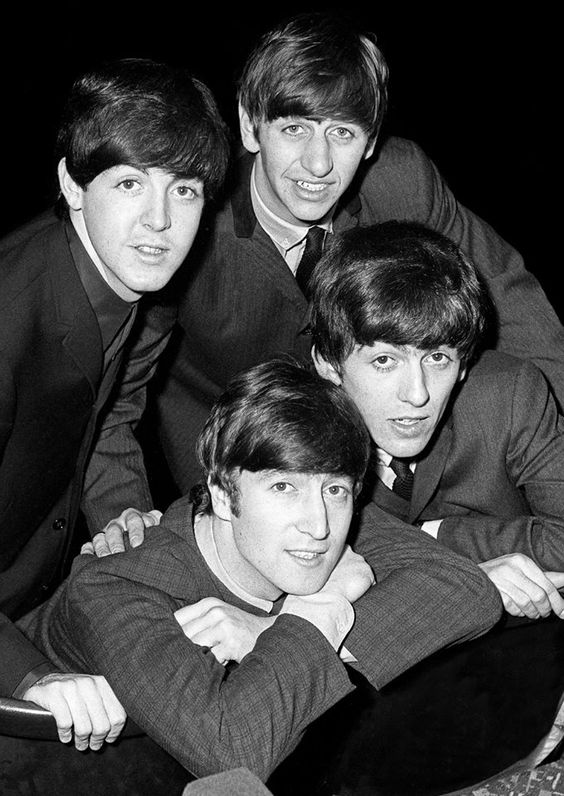 The beatles were a british band that became a big deal in the U.S. Girls went absolutely insane. The Beatles did LSD and that was the 60s...