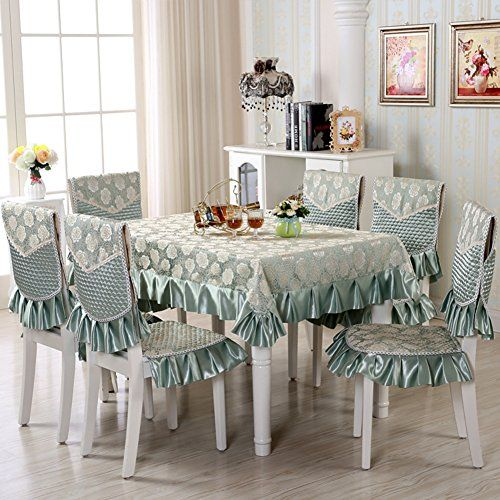 European Style Modern Dining Table Cloth Simple Rectangular Pasta