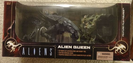 Movie Maniacs 6 Alien Queen  Action Figure Deluxe Box Set #McFarlaneToys