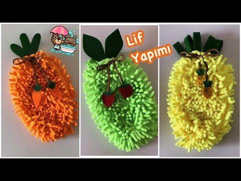 35122 Orgusuz Cok Kolay Cocuk Banyo Lifi Yapimi Fruit Sponge