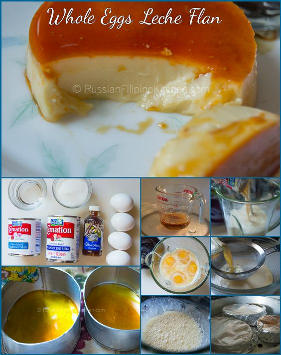 ... flan using whole eggs. The result is a rich, smooth, and creamy flan