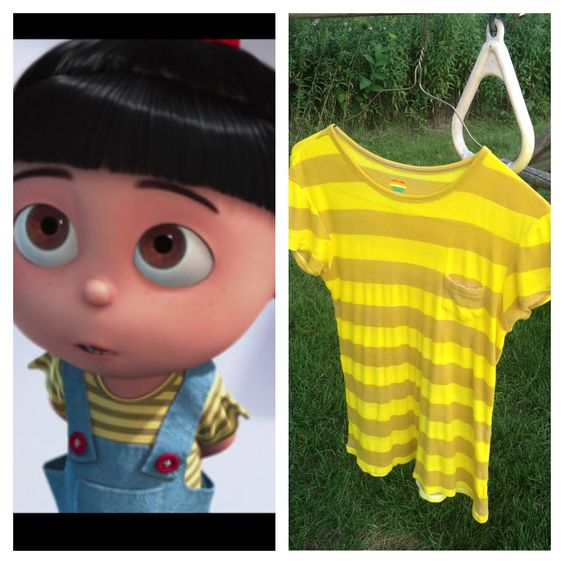 Dress up as one of the sisters Gru adopts in the Despicable Me Agnes Girls Costume. She is an adorable little girl who just loves unicorns! Throughout the course of three different films she has had a fluffy toy one and even found a real?unicorn? in the enchanted woods.