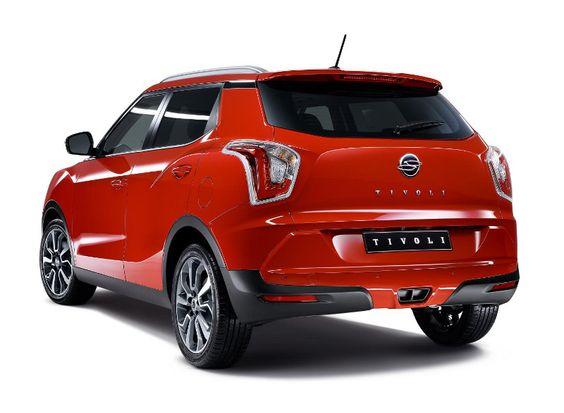 Tivoli, un SUV pequeño y crucial para el crecimiento de SsangYong +http://brml.co/1EXSYRy