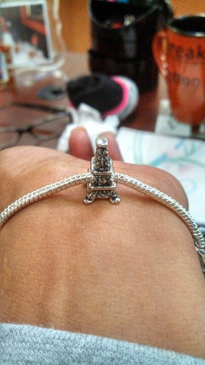 My Eifel Tower! Charm on my bracelet