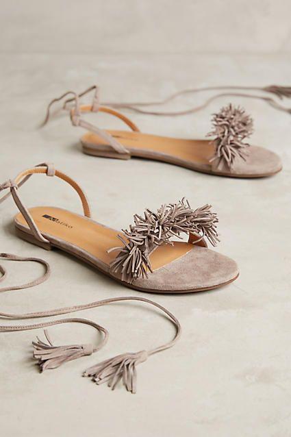 fringes fringe sandals and lace up flats on pinterest