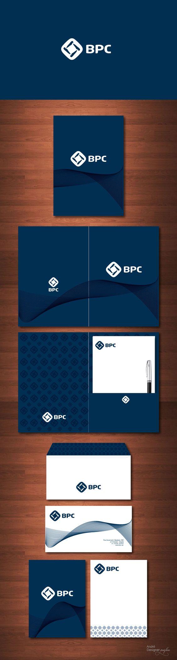 Papelaria Banco BPC - Luanda - Angola