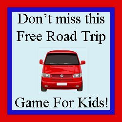 Great game for when your on a road trip with kids! Pinning, don't forget!