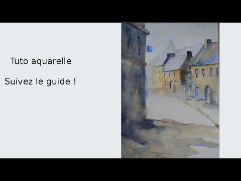 Aquarelle Watercolour Pour Debutant Youtube En 2020 Aquarelle