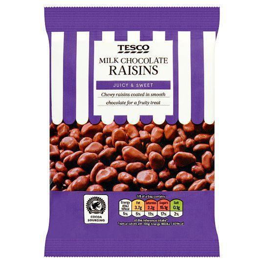 Milk Chocolate Raisins 200g In 2019 Chocolate Raisins