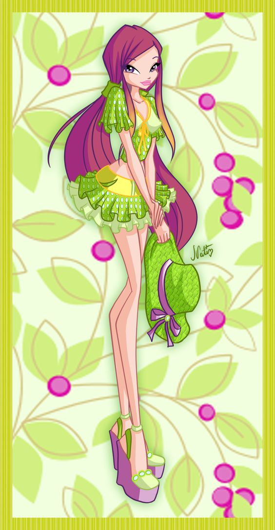 Roxy Fruit Music bar by LaminaNati.deviantart.com on @deviantART #WinxClub: