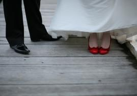 chaussures mariage colorées