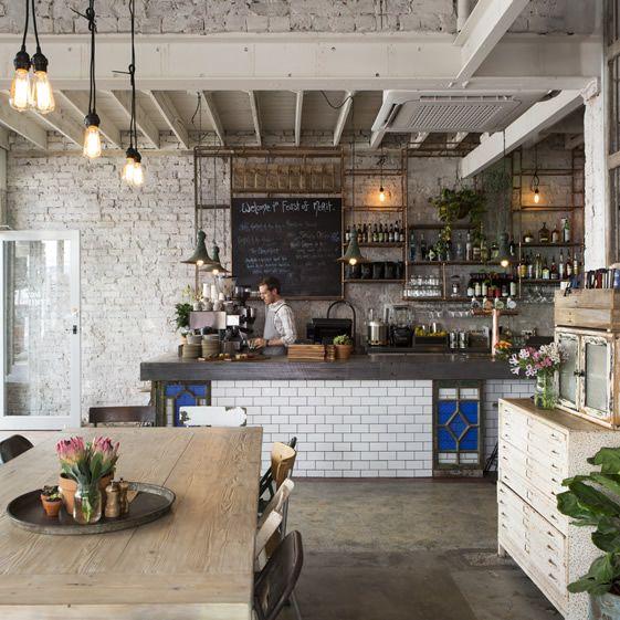 Kitchen Fittings Melbourne: Melbourne, Restaurant And Peeling Paint On Pinterest