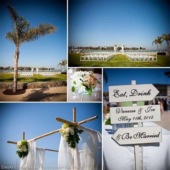 Coronado Community Center Wedding: Location, Location, Location