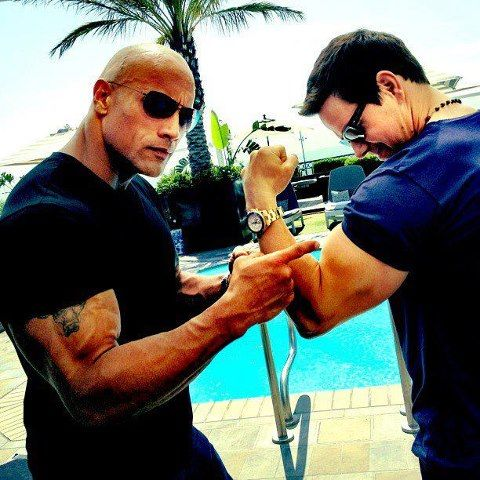 Mark Wahlberg, the Rock understands what's important.