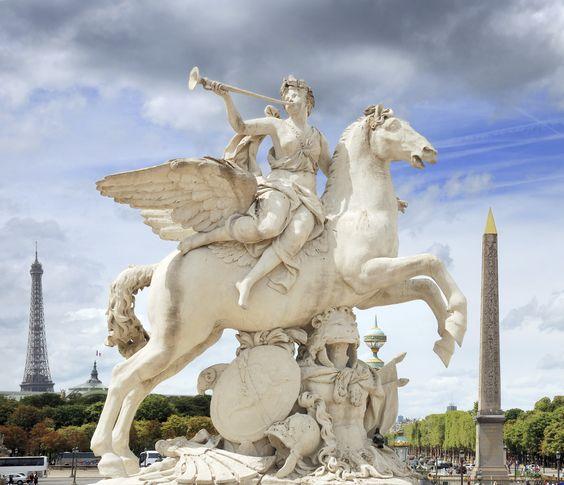 Wenn Engel reisen…dann sicherlich in die Stadt der Liebe.