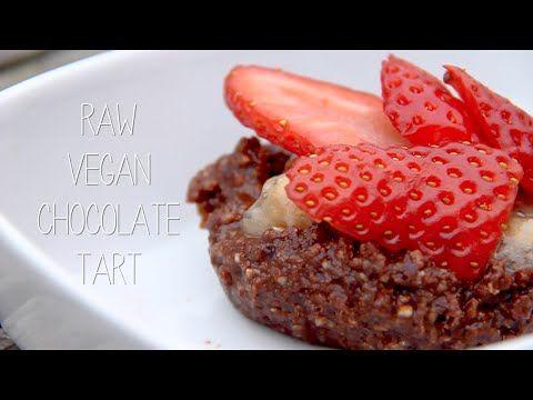 Raw vegan chocolate tarts!  #vegan #raw #raw vegan #dessert #recipe #blog #vegan recipe #vegan blog