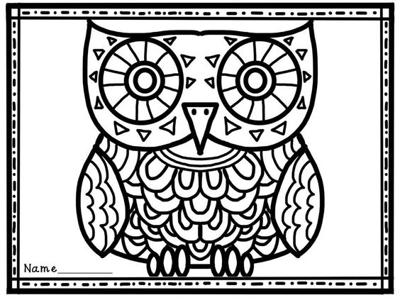 Halloween Coloring Pages October