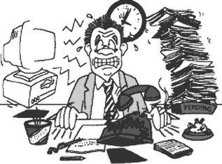 Trabalho estressante