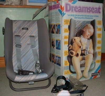 Kangol Dreamseat Child Car Seat From Late 1980 S Vintage