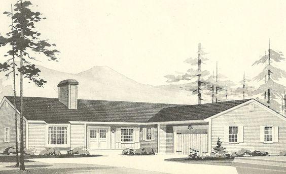 L Shaped Ranch Southwood Pinterest House Plans Home