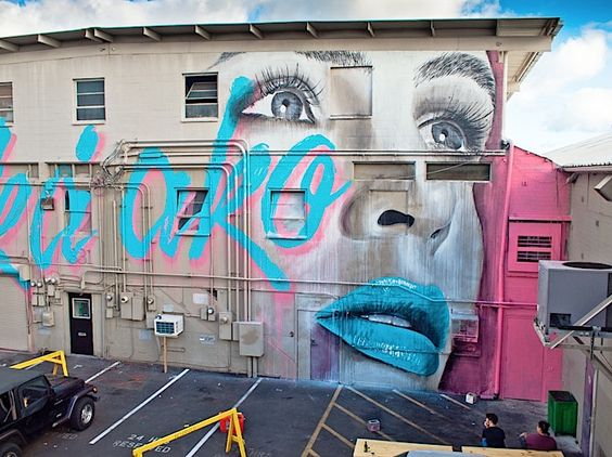 RONE en el POW WOW HAWAII : Distorsion Urbana