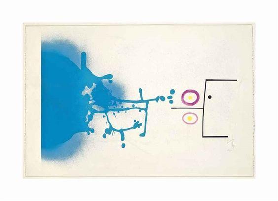 Victor Pasmore, Blue Fantasy