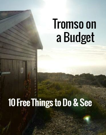 Showing you that it's possible to visit Tromso on a budget: here are 10 free things to do and see!