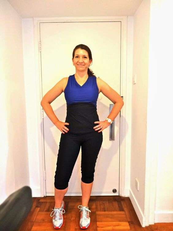 Allison.C Sewing Gallery: Fehr Trade VNA Workout Top & Duathlon Shorts