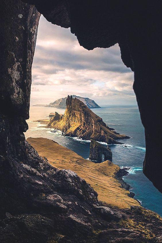 "lsleofskye: ""Jurassic Park or Faroe Islands? | marcograssiphotography """