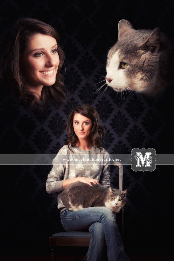 Sydney and her cat (satire). Hahahahaha