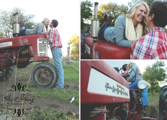 Couple On Tractor : Tractors and cute couples a match made in heaven