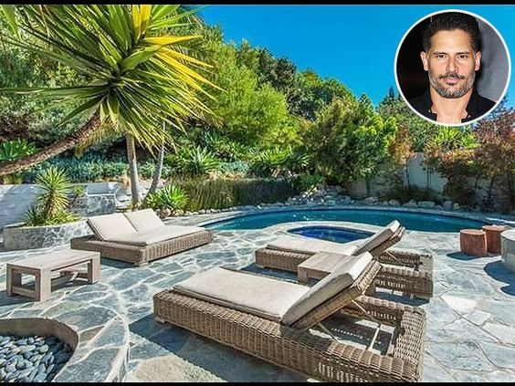 The Magic Mike XXL star recently listed his 4-bed, 3-bath L.A. Home – which boasts a lush backyard oasis