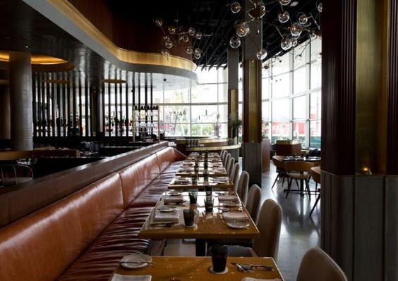 Am Columbia Square in L.A., im Restaurant Paley, sagt man, hat das Goldene Zeitalter Hollywoods seinen Anfang genommen. Das Paley des 21. Jahrhunderts huldigt diesen Hochzeiten aufs Feinste.