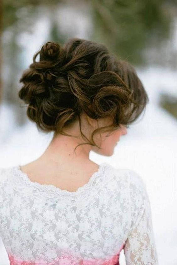Brilliant Updo Hairstyle For Long Hair And Wedding Hairstyles On Pinterest Hairstyles For Women Draintrainus